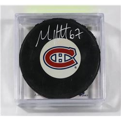 MONTREAL CANADIENS MAX PACIORETTY SIGNED HOCKEY