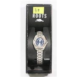 ROOTS WATCH IN BOX - JEWELLERY