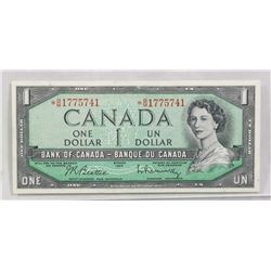 CANADA 1954 DOLLAR BILL REPLACEMENT BILL.