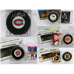 FEATURED SIGNED PUCKS