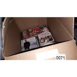 BOX OF CDS