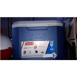 AS NEW 50 QUART XTREME 5 WHEELED COOLER