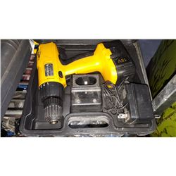 18-VOLT CORDLESS DRILL IN CASE
