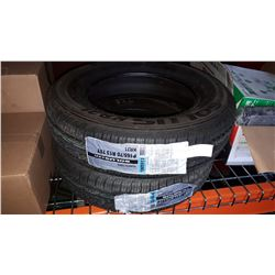 "2 NEW 13"" KUMBO TRAILER TIRES"