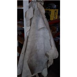 6 LEATHER HIDES
