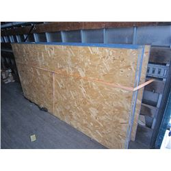 "LOT OF 6 - 1"" THICK 4X8 OSB PLYWOOD SHEETS"