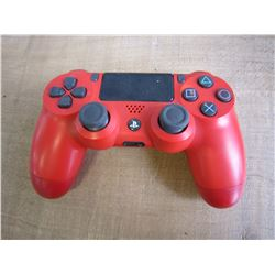 RED PS4 CONTROLLER UNTESTED