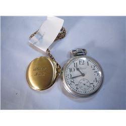 BULOVA AND ADMIRAL POCKET WATCHES