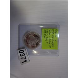 1889 USA MORGAN CC COPY AZ0523 CLAD IN .99 SILVER