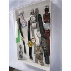 TRAY OF WATCHES