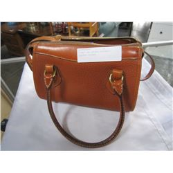 DOONEY AND BOURKE AUTHENTIC LEATHER SATCHEL