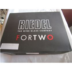RIEDEL FOR TWO WINE GLASSES