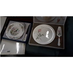 MIKASA AND AINSLEY FINE BONE CHINA SERVING SETS