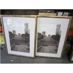 PAIR OF CITY PRINTS