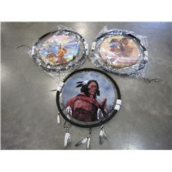 "3 FIRST NATIONS PRINT "" DREAM CATCHERS"""