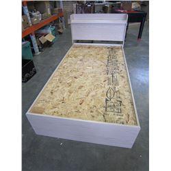 SINGLE SIZE PALLISAR BED FRAME W/ STORAGE