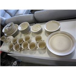 LOT OF MIKASA COUTURE HOMESPUN STONEWARE