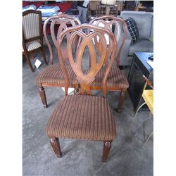 3 NEW ASHLEY DINING CHAIRS, RETAIL $149 EACH