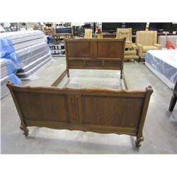 ANTIQUE DOUBLE SIZE BEDFRAME