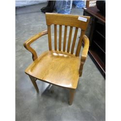 OAK CAPTAINS CHAIR
