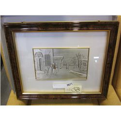 FRAMED SILVER INLAY