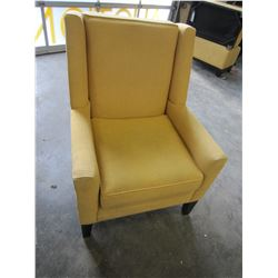 YELLOW STYLUS ACCENT CHAIR