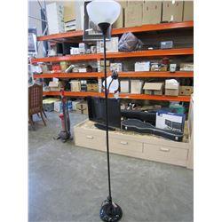 BLACK FLOOR LAMP