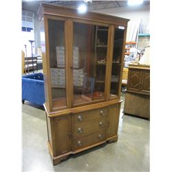 MIDDLESEX FURNITURE 1 PIECE CHINA CABINET