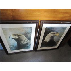 VISION OF GOLD AND MOUNTAIN PRINCE LIMTED EDITION EAGLE PRINTS