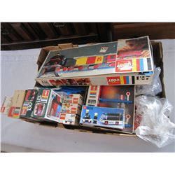 BOX OF VINTAGE LEGO SETS