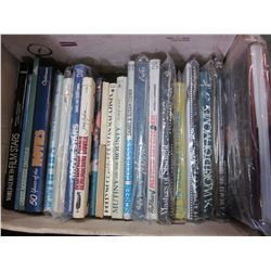 BOX OF MOVIE COFFEE TABLE BOOKS