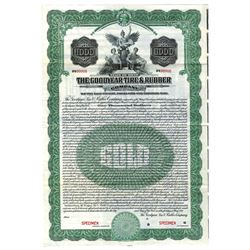 Goodyear Tire & Rubber Co., 1921 Specimen Bond