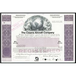 Cessna Aircraft Co. Specimen Bond.