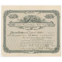 Aerial Circuit Pleasure Wheel Co., 1904 Issued Stock Certificate