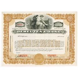 Jewel Tea Co., Inc., 1941 Specimen Stock Certificate
