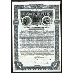 Lake Erie Co., 1905 Specimen bond.