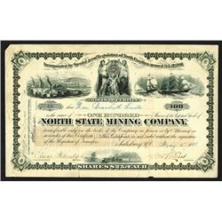 North State Mining Co., 1881 Issued Stock