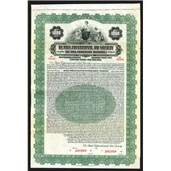 De Paul Educational Aid Society [De Paul University Building] 1927 Specimen Bond.