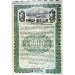 Mexican Petroleum Co. Ltd., 1910 Specimen Bond.