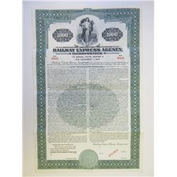 Railway Express Agency, Inc., 1938 Specimen Bond