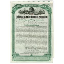 Georgia Pacific Railway Co. 1882 issued Bond.