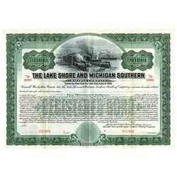 Lake Shore and Michigan Southern Railway Co., ca.1900-1910 Specimen Bond