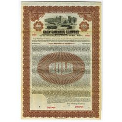 Gary Railways Co., 1925 Specimen Bond