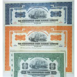 Indianapolis Union Railway Co., 1930 Trio of Bonds