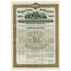 Kentucky & South Atlantic Railway Co., 1882 Issued Bond