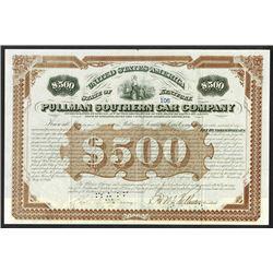 Pullman Southern Car Co. 1876.