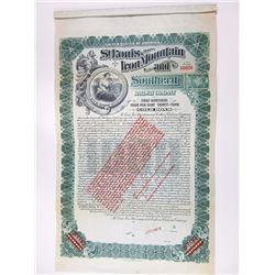 St. Louis. Iron Mountain and Southern Railway Co., 1903 Specimen Bond