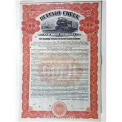 Buffalo Creek Railroad Co.,1910 Specimen bond.