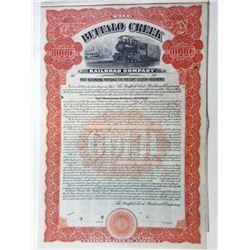 Buffalo Creek Railroad Co.,1910 Specimen bond.
