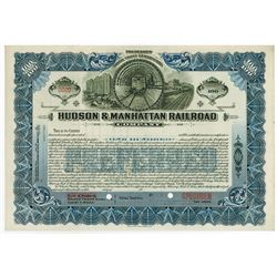 Hudson & Manhattan Railroad Co., 1918 Specimen Stock Certificate